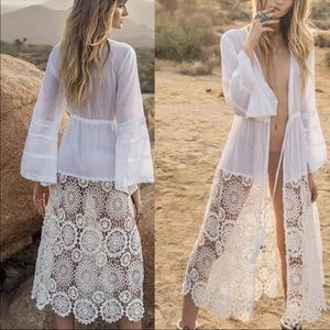 Dresses & Skirts - New! Gorgeous bohemian cover up dress